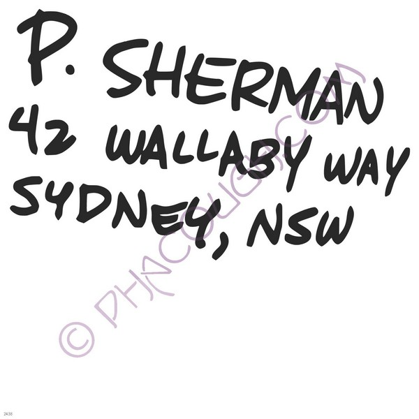 p sherman 42 wallaby way sydney